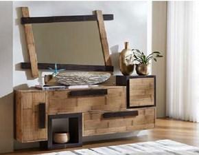 Mobilel bagno   legno e bambu  minimal design  a prezzi convenienti