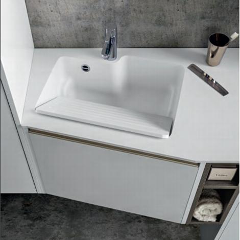 Mobili bagno moderni cerasa scontati del 30 arredo for Mobili ufficio scontati