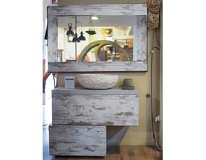 moble bagno sfalsato vintage shabby in offerta nuovimondi