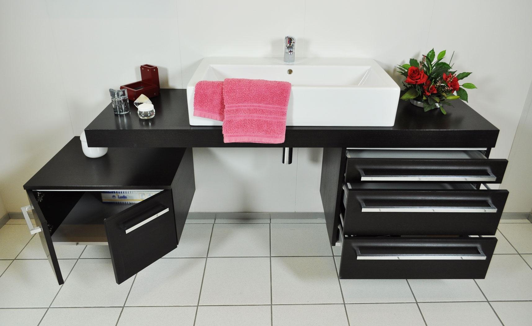 Novabagno mobile da bagno con lavabo soprapiano scontato - Marche famose cucine ...