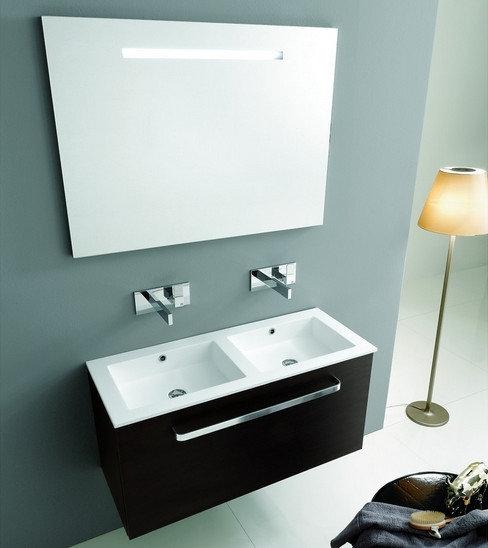 Offerta bagno doppio lavello arredo bagno a prezzi scontati - Lavello bagno appoggio ...