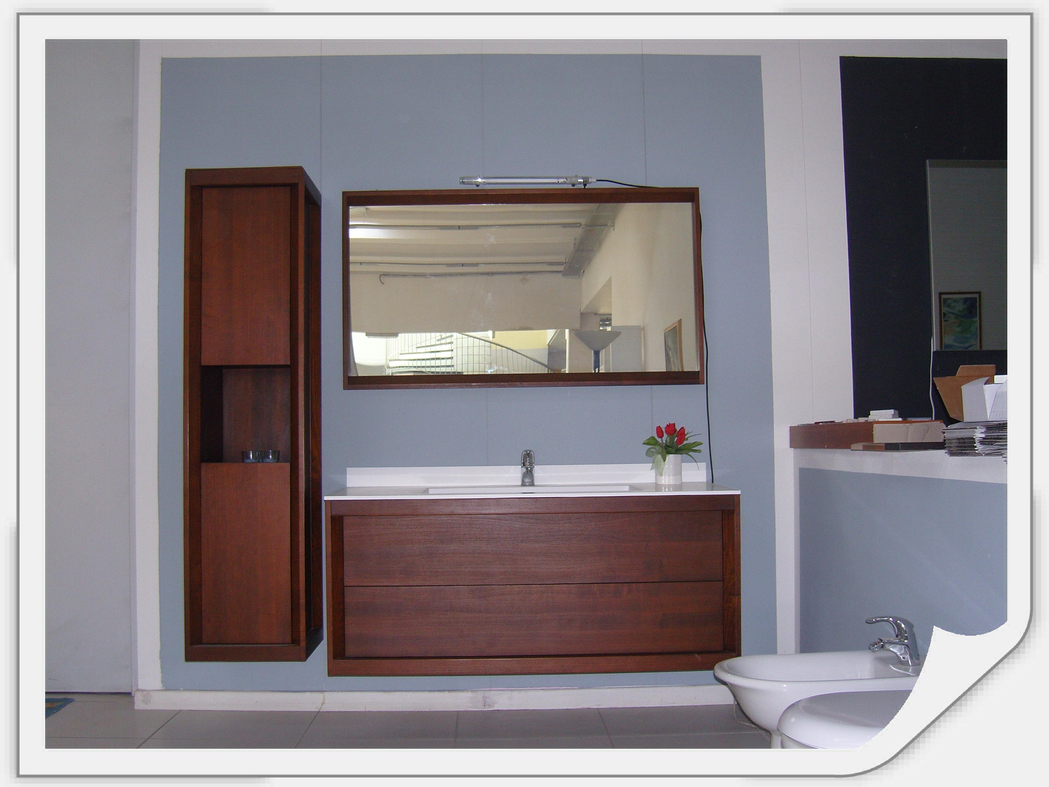 Dogi bagno legno massello scontato del 60 arredo bagno a prezzi scontati - Lavabo bagno prezzi ...