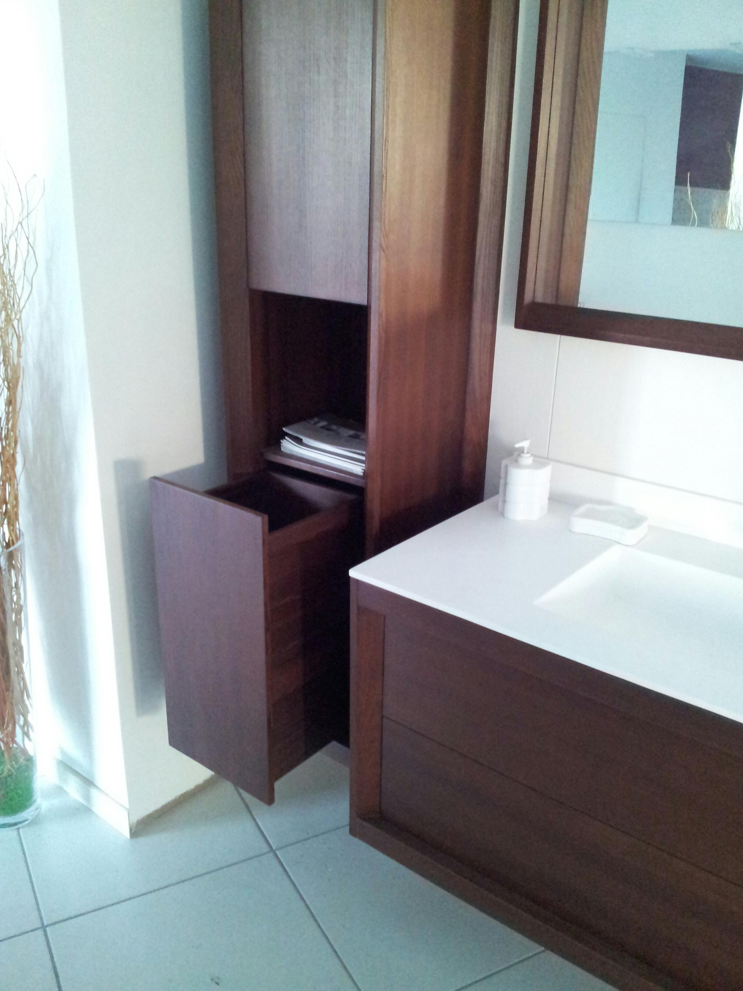Dogi bagno legno massello scontato del 60 arredo - Top bagno legno massello ...