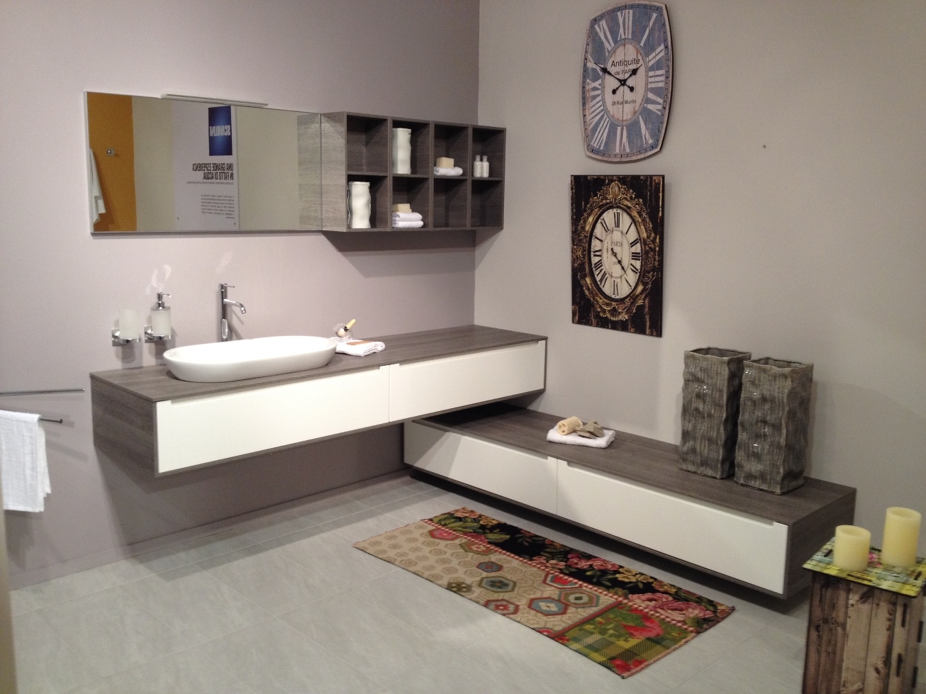 scavolini idro laccato opaco - arredo bagno a prezzi scontati - Bagni Moderni Beige E Marrone