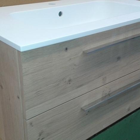 arlex offerta occasione mobile ba bagno in rovere scontato moderno ... - Arlex Arredo Bagno