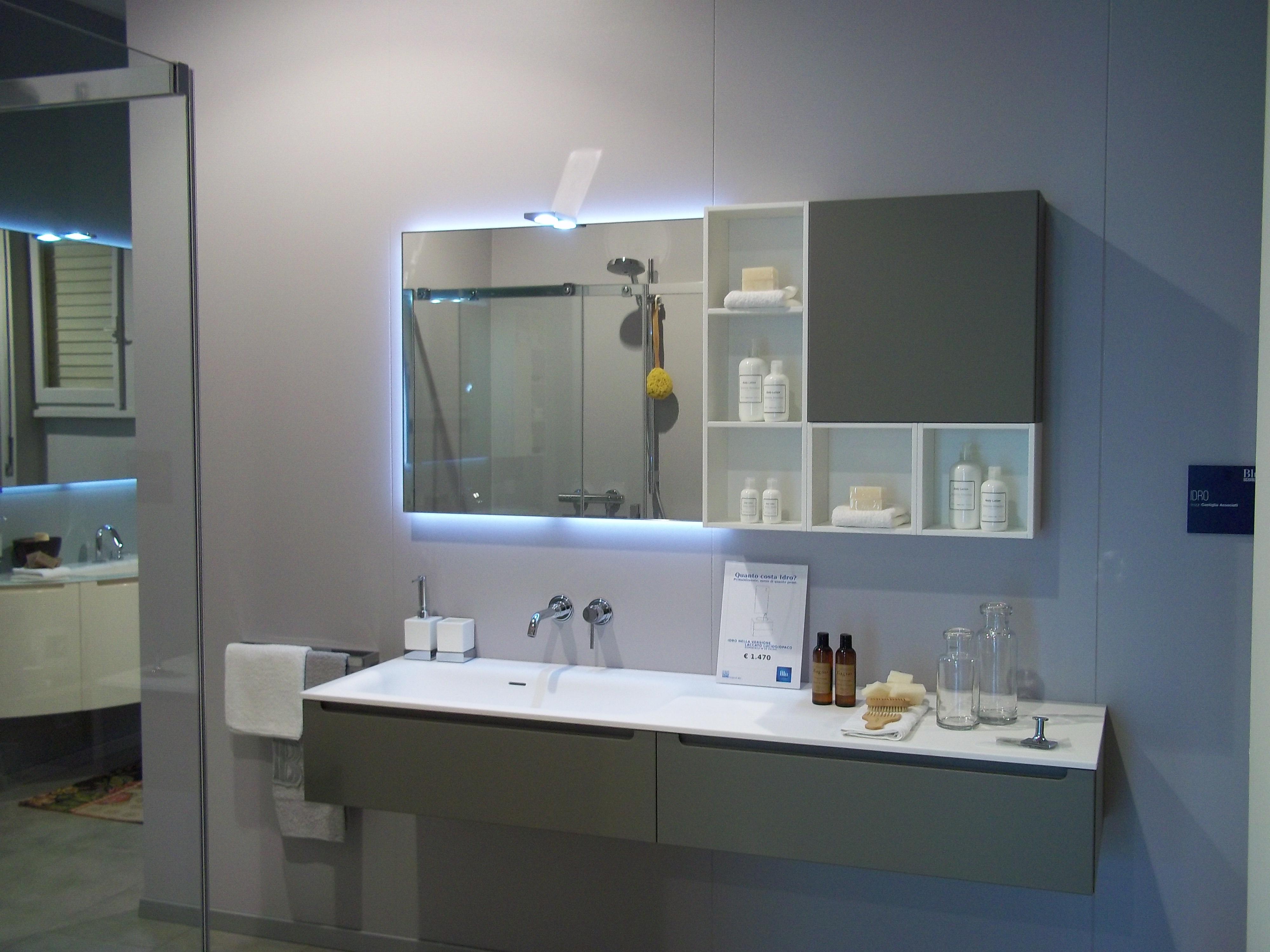 Mobile Bagno Ikea Immagini rivo blu scavolini. soluzioni razionali e dettagli ricercati
