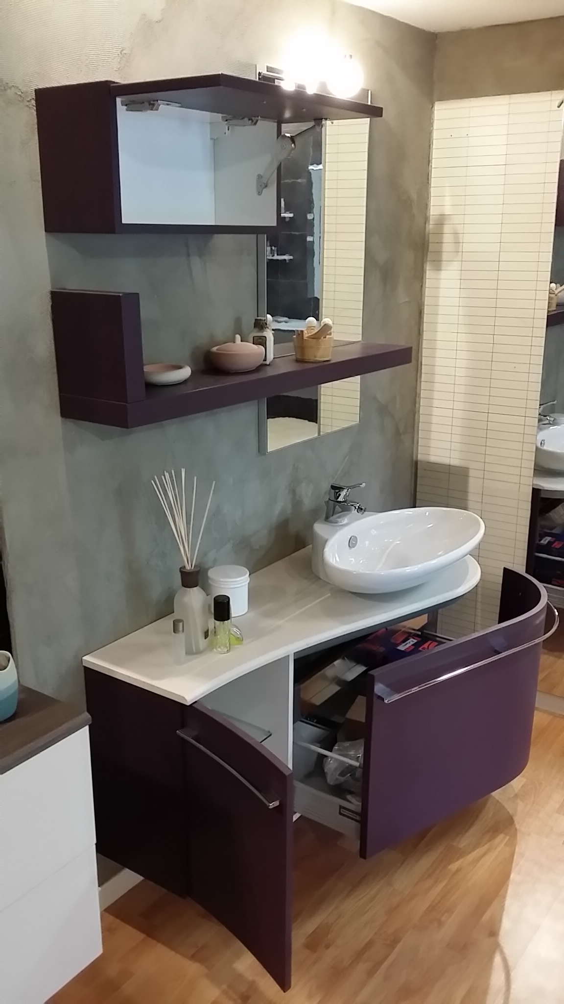 mobile bagno outlet. mobile lavabo blu with mobile bagno outlet ... - Svendita Arredo Bagno