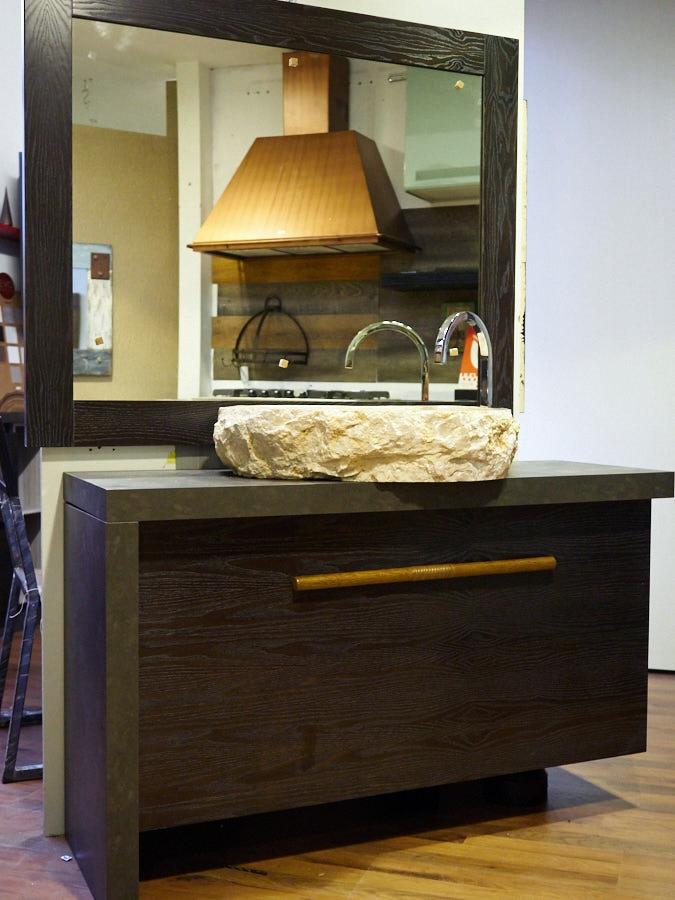 Outlet etnico mobile arredo bagno con design moderno zon for Outlet arredo design