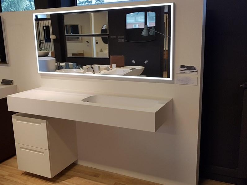 Piano integrato con lavabo falper mobile da bagno a for Prezzi lavabo bagno