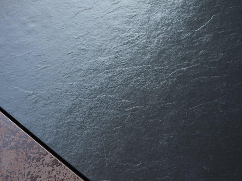 Piatto doccia resina antracite effetto pietra spaccata 80x160 Euro bagno:  mobile da bagno A PREZZI OUTLET