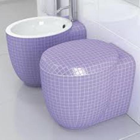 sanitari stile mosaiko mini 9 - arredo bagno a prezzi scontati - Arredo Bagno Sanitari Prezzi