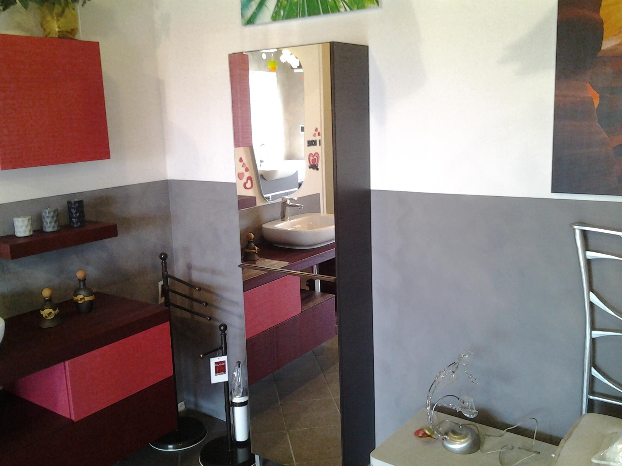 scarpiera anta specchio modello linear - arredo bagno a prezzi ... - Arredo Bagno Provincia Di Milano