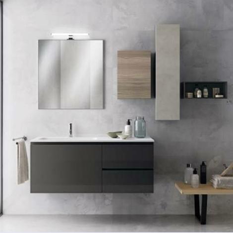 Scavolini bathrooms rivo moderno laccato lucido sospeso arredo bagno a prezzi scontati - Scavolini arredo bagno ...