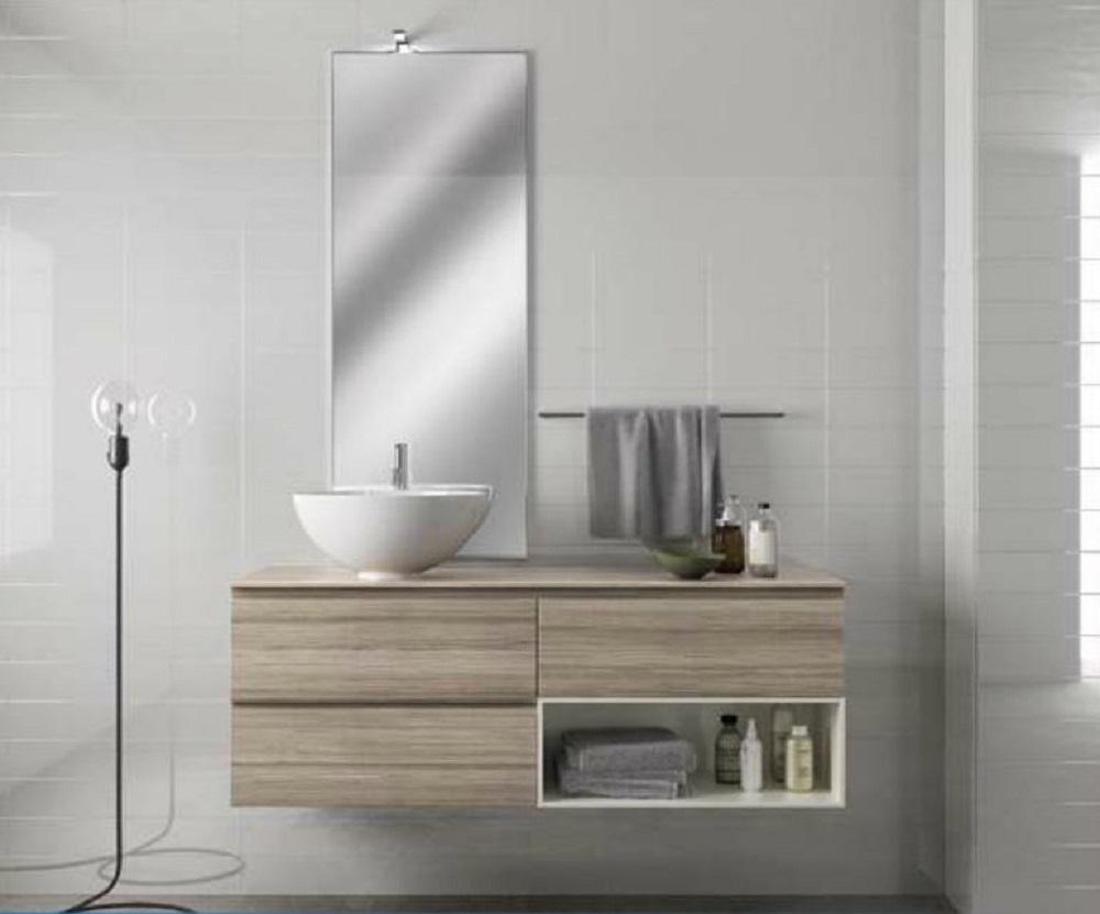 Scavolini bathrooms rivo moderno in promozione arredo for Arredo bagno semplice