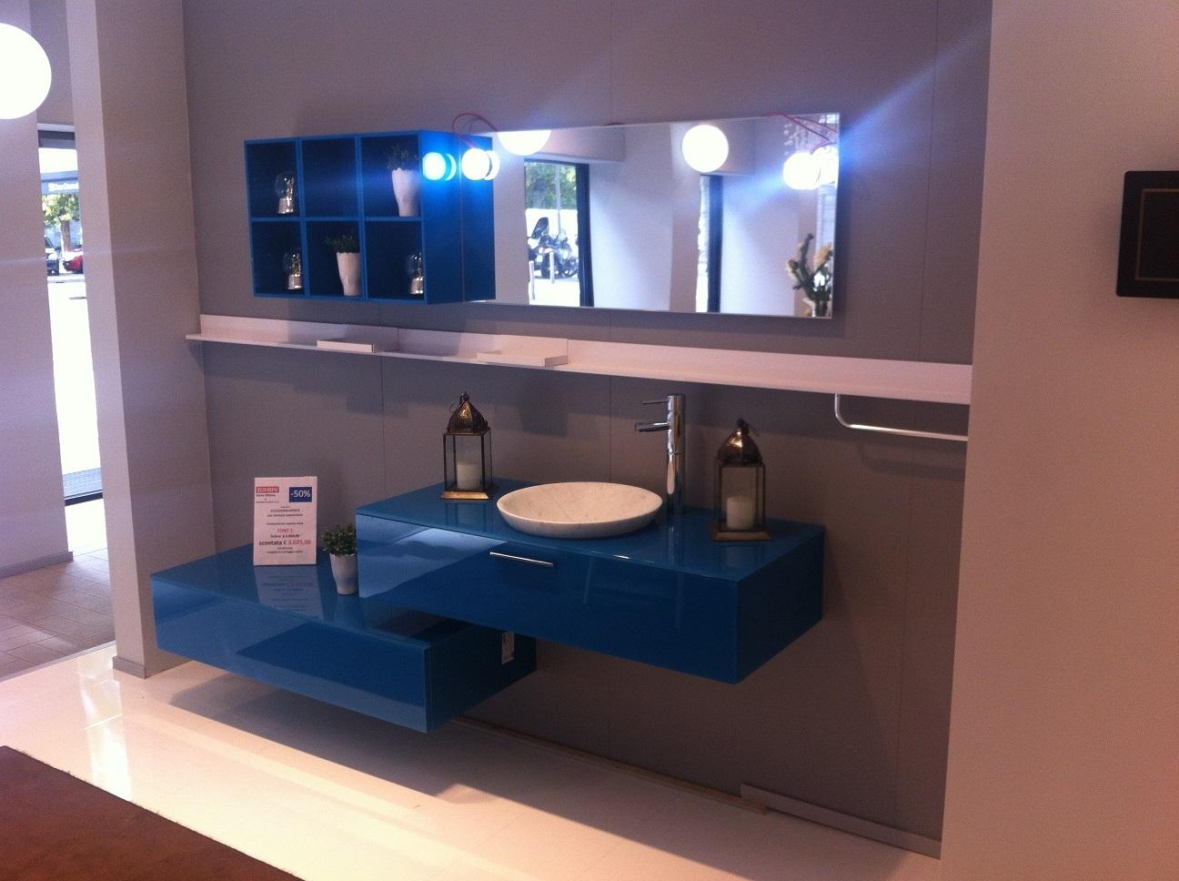 Scavolini offerta outlet bagno mod font arredo bagno a - Outlet piastrelle bagno ...
