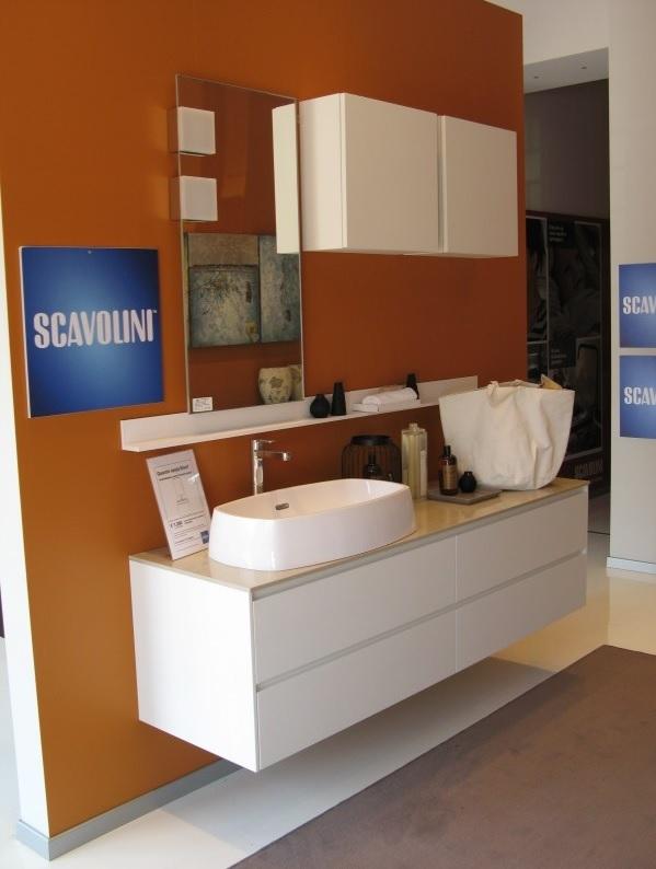 Scavolini offerta outlet bagno mod rivo 18887 arredo - Arredo bagno scavolini prezzi ...