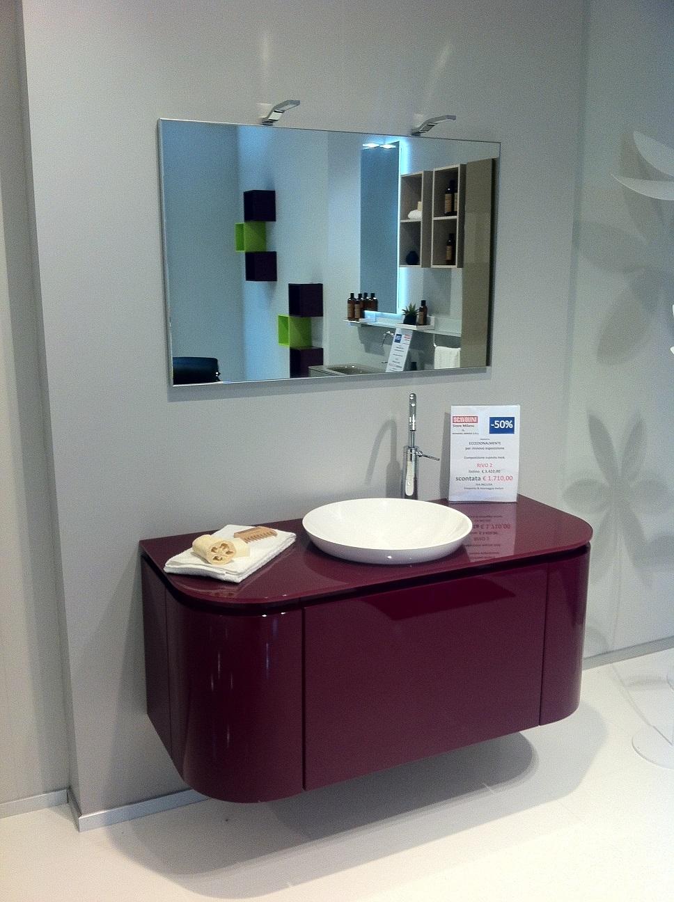 Scavolini offerta outlet bagno mod rivo arredo bagno a for Accessori bagno outlet