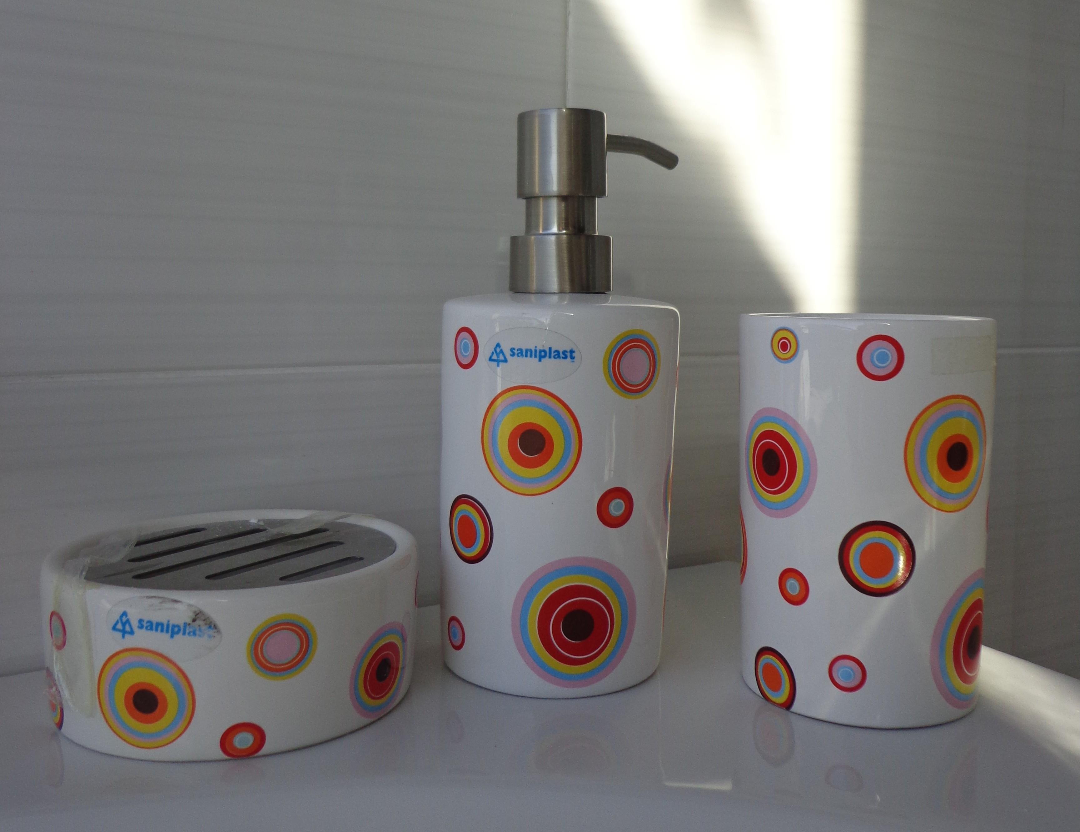 Set da bagno bubble arredo bagno a prezzi scontati for Set arredo bagno