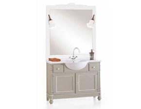 Shabby chic Artigianale: mobile da bagno A PREZZI OUTLET