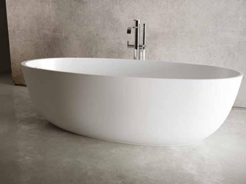 Vasca Da Bagno Makro Prezzi : Vasca bagno free standing idea group round mineralmarmo bianco