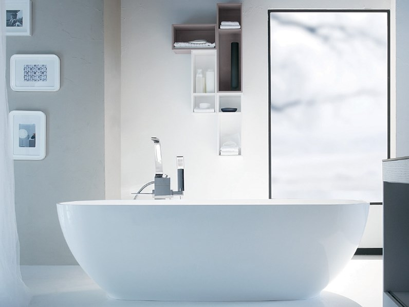Vasca centro stanza designe geacril o tecnoril made in italy - Decor italy vasca ...