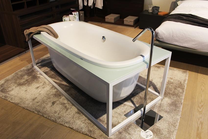 Vasca da bagno moderna naked   glass scontata del  50%   arredo ...