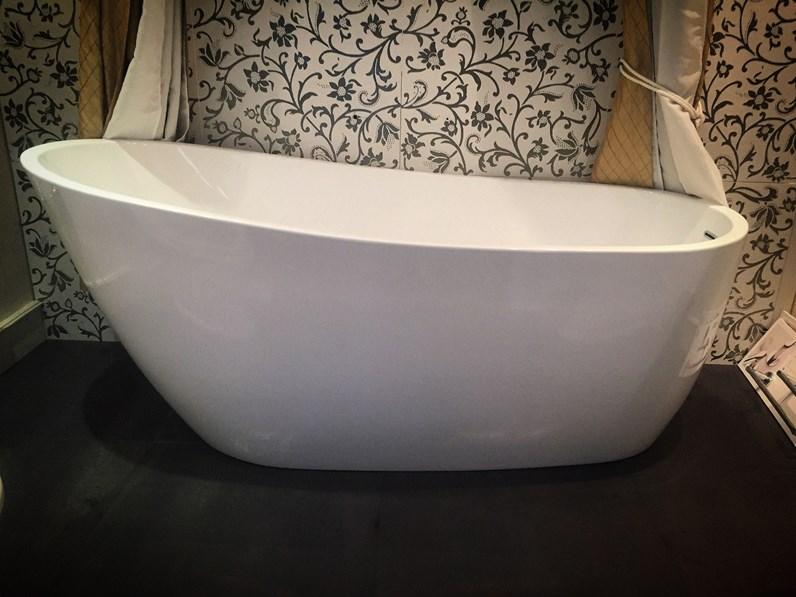 Vasca rolls royce in acrilico bianco 173x77 cm for Gaia arredo bagno
