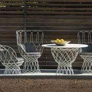 Tavolo allungabile 6 poltroncine arredo giardino a for Emu arredo giardino prezzi