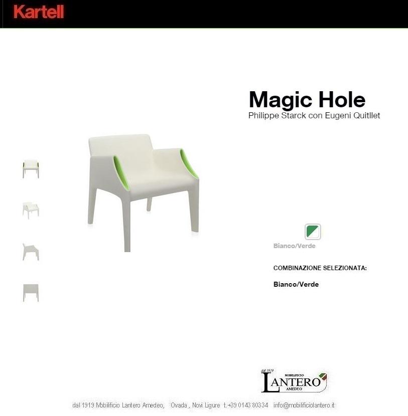 Kartell kartell magic hole vendita online outlet for Arredo giardino outlet online