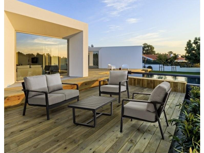 Antares bizzotto divano da giardino con forte sconto for Arredo giardino mercatone uno