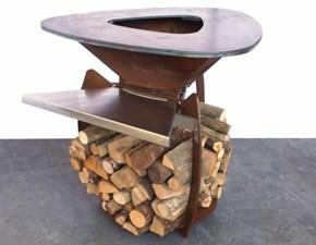 Barbecue Artigianale Augusto barbecue a legna  A PREZZI OUTLET