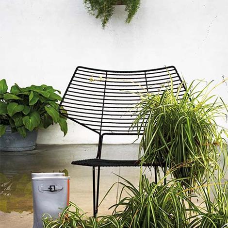 Coppia di sedie da giardino modello alieno prodotto di for Sedie da giardino prezzi
