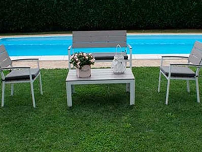 Cosma outdoor living divano simi da giardino con sconto for Outlet del giardino