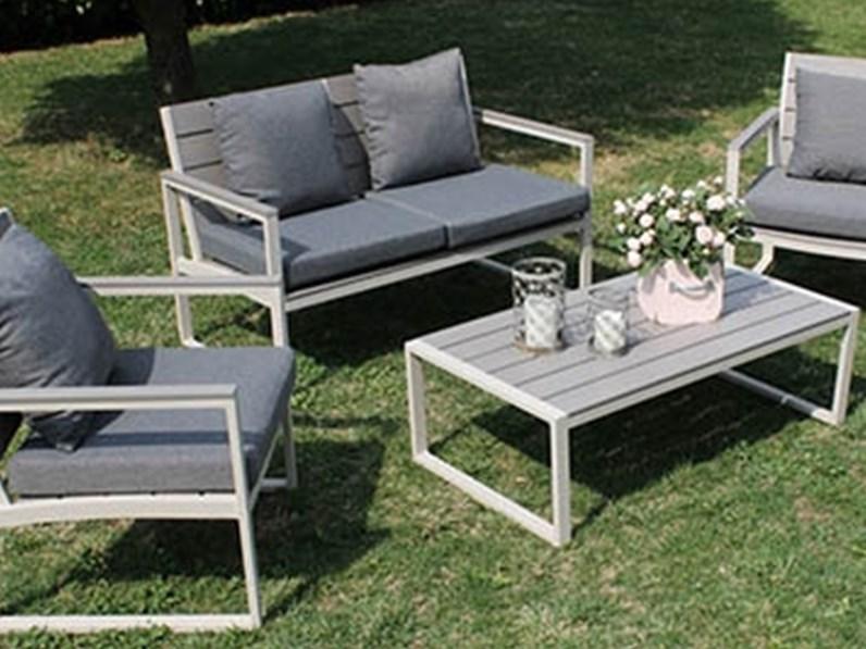 Cosma outdoor living divano sirio da giardino con sconto for Outlet giardino