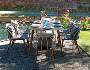 Dining set imperia Greenwood: set in Offerta Outlet