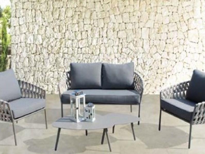 divano da giardino hampton cosma outdoor living offerta outlet