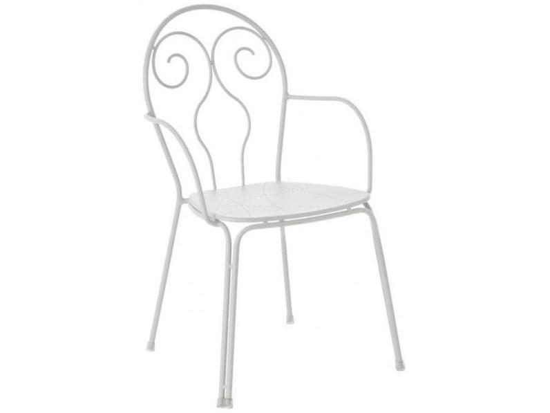 Emu caprera colore bianco sedia da giardino a prezzi for Emu arredo giardino prezzi