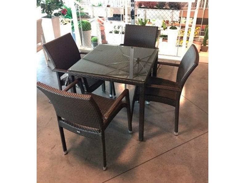 Emu delta 80x80 tavolo da giardino in offerta for Emu tavoli da giardino