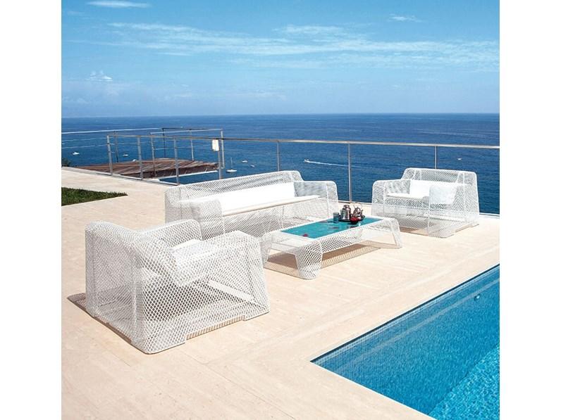 Emu divano modello ivy divano da giardino a prezzi outlet for Arredo giardino on line outlet