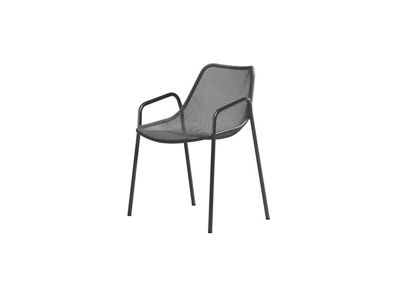 Emu sedia da giardino round colore ferro antico con for Emu arredo giardino outlet