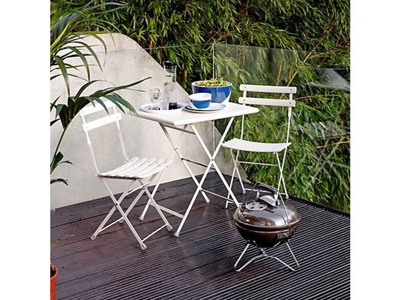 Emu tavolo arc en ciel 70 x 50 con 2 sedie tavolo da for Offerta sedie giardino