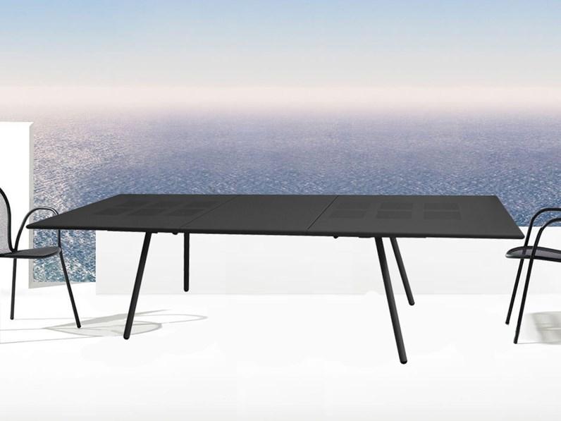 Emu tavolo bridge 200 70 con 6 ronda tavolo da giardino a for Tavoli emu prezzi