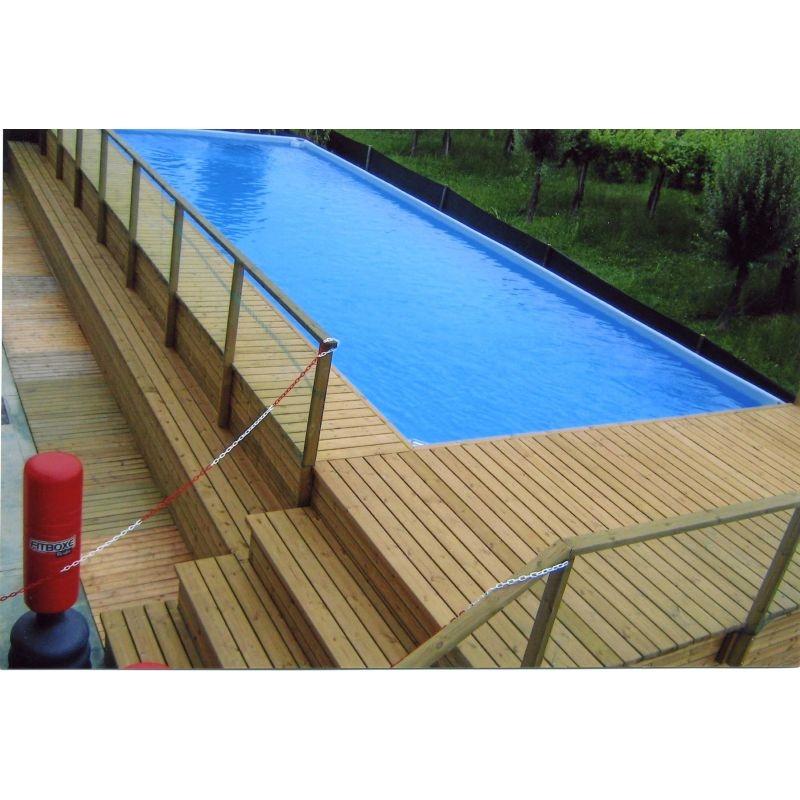 Rivestimento in legno per piscine fuori terra oe36 pineglen for Piscine menin tarif
