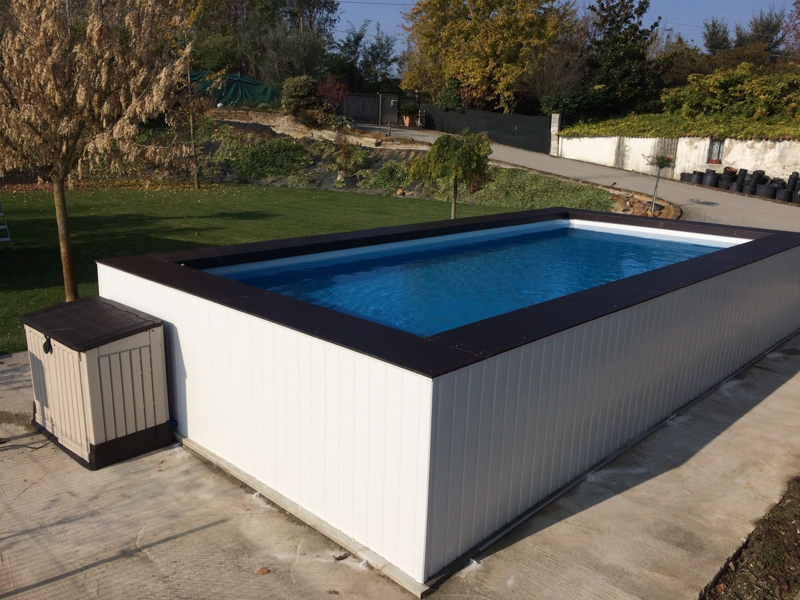 Rivestimenti piscine fuori terra intex cl28 regardsdefemmes - Piscine intex usate ...