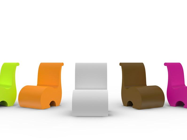 Poltrona adatta da esterno ed interno design made in italy for Arredo giardino design outlet