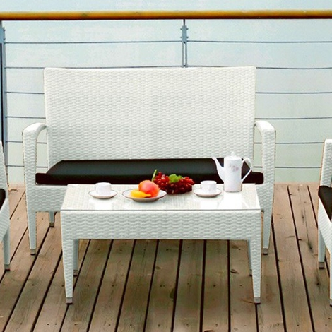 Rossanese composizione gf divano e seduta da esterno for Gf arredamenti