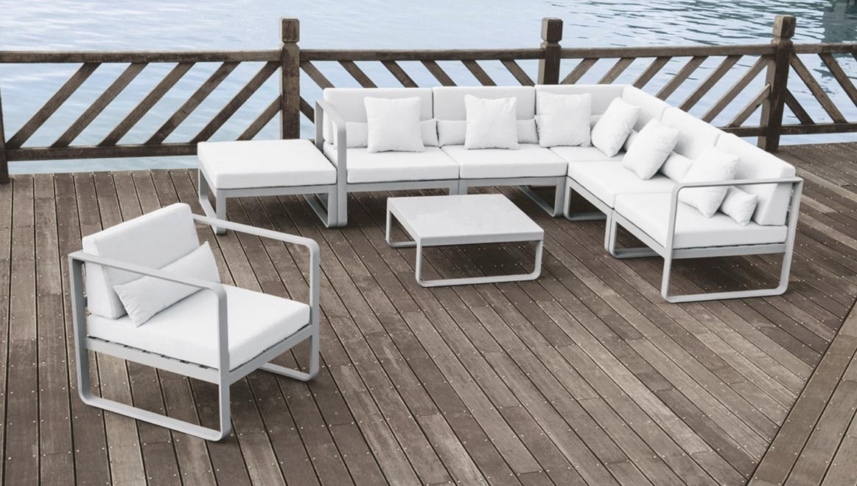 Rossanese composizione ma divano e seduta da esterno - Arredo giardino bologna ...