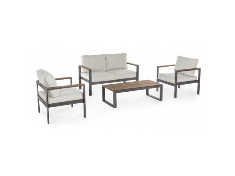 Bizzotto Arredo Giardino. Sedia In Alluminio Bianco Impilabile Con ...