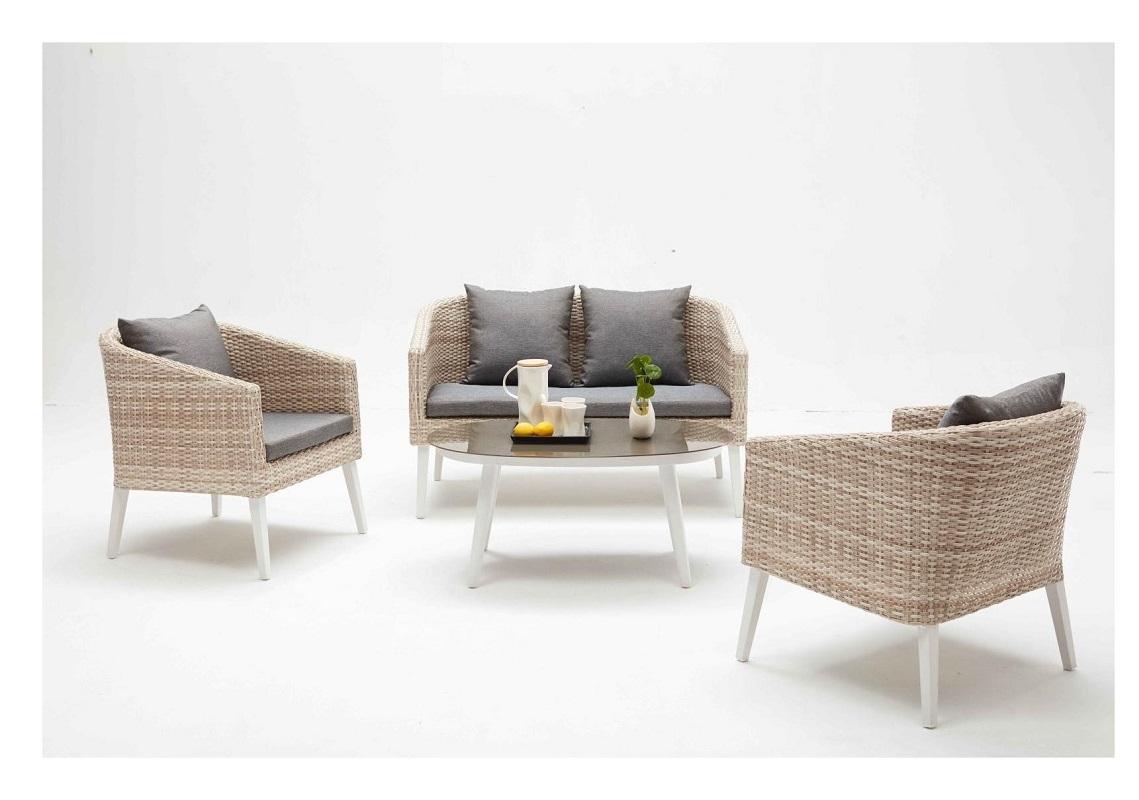 divani giardino set relax con intreccio wicker catalogo