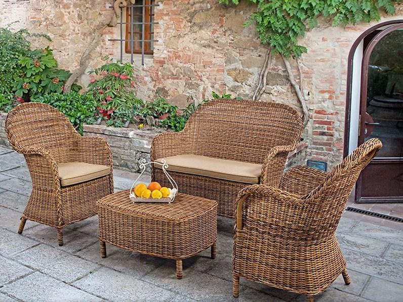 Salotto shiva Bizzotto: divano da giardino a prezzo Outlet ...